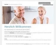 Bild Webseite Rosenboom Carsten Dr. Zahnarzt Hamburg