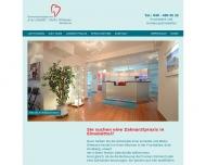 Bild Webseite Schadde Arne , Dittmann Meike Zahnärzte Hamburg