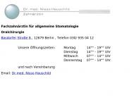 Bild Webseite Rottstock Brigitte Dr.med. Zahnarztpraxis Berlin