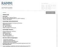 Bild Webseite Ramm Stephan Dr. Praxis für Zahnheilkunde Hamburg