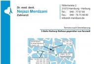 Bild Webseite MERDZANI NEJAZI Dr. Zahnarzt Hamburg