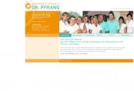 Zahnarztpraxis Dr. Pfrang Ihr Zahnarzt in Nürnberg-Fischbach