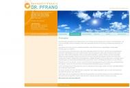 Website Pfrang Gert Dr. Zahnarzt Praxis Sven Dr. Zahnarztpraxis