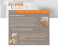Bild Webseite Pieper Johannes Dr.med.dent. Zahnarzt Frankfurt