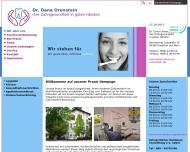 Bild Webseite Orenstein D. Dr.med. Zahnärztin Frankfurt