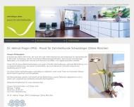 Bild Webseite Prager Helmut Dr. Zahnarzt München