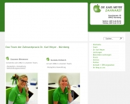 Website Meyer Karl Dr.med.dent.