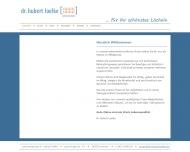 Website Loelke Hubert Dr. Zahnarzt
