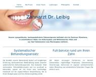 Bild Webseite Leibig Thomas Dr. Zahnarzt München