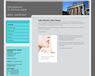 Bild Webseite Loreck Kai-Uwe Dr.med.dent. Zahnarzt Berlin