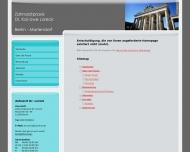 Website Loreck Kai-Uwe Dr.med.dent. Zahnarzt