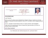 Bild Leonhard Klaus Dr.med.dent.