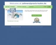 Bild Webseite Kubin Robert Zahnarzt Köln
