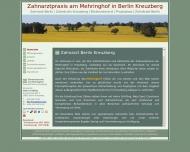 Bild Webseite Schilling Heike Zahnarztpraxis Berlin