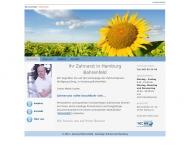 Bild Webseite Zahnarztpraxis Wolfgang König Hamburg