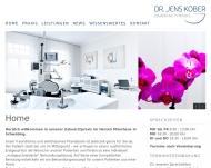 Bild Webseite Kober Jens Dr. Zahnarzt München