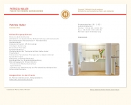 Bild Webseite Haller Patrizia Dr. München