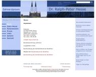 Website Hesse Ralph-Peter Dr. Zahnarzt