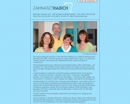 Bild Webseite Zahnarzt Habich Berlin