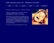 Bild Webseite Gruber Stefan Dr. Zahnarzt München