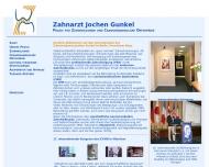 Bild Webseite Gunkel Jochen , Becker Matthias Zahnärzte Berlin