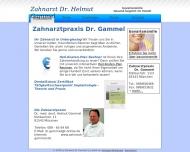 Bild Webseite Gammel Helmut Dr.med.dent. Zahnarzt München