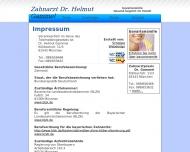 Website Gammel Helmut Dr.med.dent. Zahnarzt