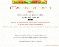 Website Felber Michael Dr. , Matthies Konrad Dr. Zahnarzt