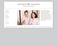 Bild Webseite Laarmann & Dr. Bürgel Zahnärztinnen Hamburg