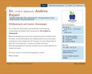 Bild Webseite Rajaei Andrea Dr. Zahnarztpraxis München