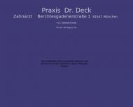 Bild Deck Wolfgang Dr. Zahnarzt Praxis