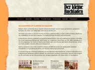 Website Der Kleine Buchladen
