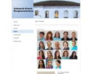 Website Schenk Peter Dr. , Bisinger Pit Dr. , Betz Felizitas Zahnärzte