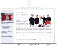 Bild Webseite Praxis Dr. Behring & Partner Hamburg