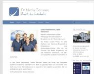 Bild Webseite Görrissen Nicola Dr. Zahnärztin Hamburg