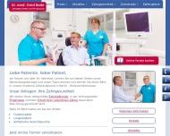 Bild Webseite Bade Gerd Dr. Zahnarztpraxis Berlin