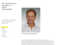 Bild Webseite  Dossenheim