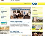 Website Flensburger Arbeiter-Bauverein eG