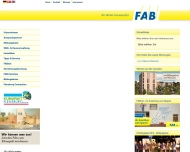 Website Flensburger Arbeiter-Bauverein eG