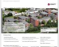 Bild Webseite DMT Essen