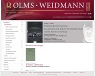 Bild Olms Georg Verlag AG