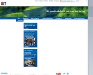 Bild Webseite Institut für Rundfunktechnik München
