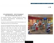 Bild Webseite Schmidt Dr. & Partner Steuerberatungsgesellschaft München