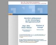 Bild Webseite Rötzer Peter Dipl.-Kfm. Wirtschaftsprüfer und Steuerberater München