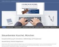 Bild Webseite KUSCHEL ULLRICH DIPLOM-KAUFMANN München