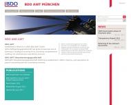 Bild Webseite Rauchfuss Manuel Dipl.-Kfm. Wirtschaftsprüfer und Steuerberater München