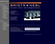 Bild Webseite BNC Consulting für Heil- und Pflegeeinrichtungen München