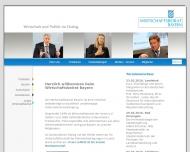 Wirtschaft und Politik im Dialog - Wirtschaftsbeirat Bayern