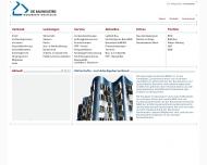 Bild Webseite Wirtschaftsvereinigung Bauindustrie Düsseldorf