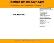 Bild Institut für Bioökonomie